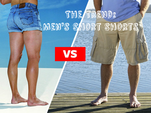 The Trend: Men's Short Shorts |
